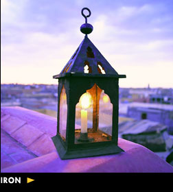 Iron Moroccan Lighting