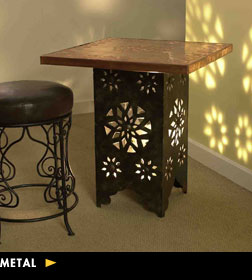 Metal Moroccan Tables
